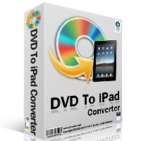 <p> 	Professionally designed for Apple iPad, DVD to iPad Converter is a flexible and easy to use software helping you easily convert your favourite DVD movies to MP4 format for your Apple iPad, expanding you a more wonderful entertainment life. Now you can rip and convert DVD to iPad format in highest speed and unmatchable quality just in a few easy steps. Moreover, the mulit converting mode could help you choose your desired DVD title to convert.</p>