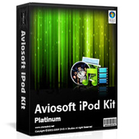 Aviosoft iPod Kit Screen shot