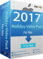 WinX 2017 Holiday Video Pack for 5 Mac (Holiday Deal) discount coupon