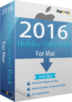 WinX 2016 Holiday Video Pack for 5 Mac (Holiday Deal) discount coupon