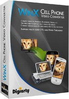 WinX Cell Phone Video Converter | Digiarty Software