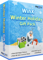 WinX Winter Holiday Gift Pack | for 3 PCs