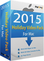 WinX Holiday Video Pack for 1 Mac (Holiday Deal)