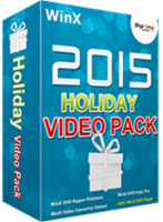 WinX 2017 Holiday Video Pack for 5 PCs (Holiday Deal)