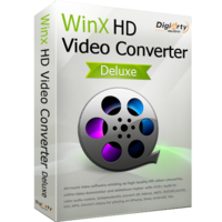 WinX HD Video Converter Deluxe for 1 PC (Holiday Deal) discount coupon