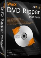 WinX DVD Ripper Platinum Company License Screen shot