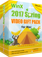 WinX 2017 Spring Video Gift Pack for Mac discount coupon