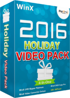 WinX 2016 Holiday Video Pack discount coupon