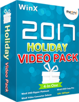 cheap WinX 2017 Holiday Video Pack