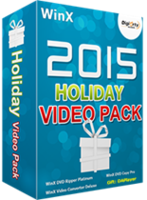 WinX 2017 Holiday Video Pack for 5 PCs (Holiday Deal) | Digiarty Software