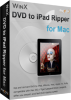WinX DVD to iPad Ripper for Mac promo code