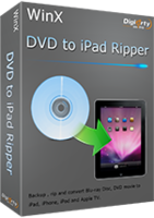 WinX DVD to iPad Ripper promo code