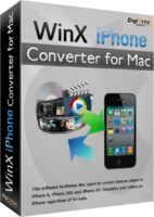 WinX iPhone Converter for Mac | Digiarty Software