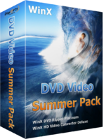WinX DVD Video Summer Pack discount coupon