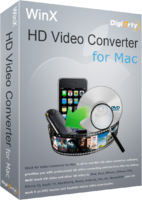 WinX HD Video Converter for Mac Screen shot