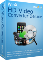 WinX HD Video Converter Deluxe Screen shot