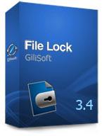 GiliSoft File Lock 3.4 Screen shot
