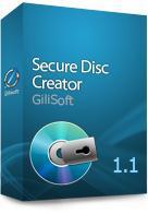 GiliSoft Secure Disc Creator 1.1 Screen shot