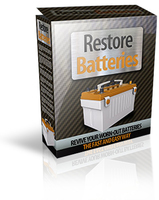 Restore Batteries Screen shot