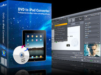 <p>Rip and convert DVD to iPad H.264, MPEG-4, MP4 videos in different resolutions (1280*720, 720*480, 640*480), or extract DVD soundtrack as iPad music in MP3, AAC or M4A format. Watching DVD movies on your iPad has never been easier</p>