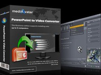 <p>mediAvatar PowerPoint to Video Converter can convert PowerPoint to video of different SD/HD formats like AVI, H.264/MPEG-4 AVC, MPEG2, WMV, FLV, HD H.264/MPEG-4 AVC, HD MPEG 2 TS, HD WMV with watermark to protect the right of presentation author. You can play the presentations on PC media player, HD multimedia devices and portable players, and even upload them to YouTube now.</p>
