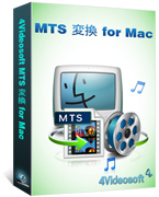 4Videosoft MTS 変換 for Mac Screen shot