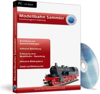 Modellbahn Sammler, Eisenbahn Verwaltung Software