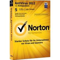 Norton AntiVirus 2012 - 5 PC´s - 1 Jahr