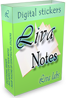 <p>Liva Notes is digital stickers. It have nice design and safe notes storage, allows you to write down your notes quickly and easily and allows to place your stickers on the desktop in expanded or constricted states. There is 12 exclusive themes!</p>