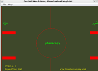 Desktop English Arabic Football Game