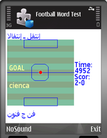<p>Learn Words From Spanish to Arabic Playing Football!</p>