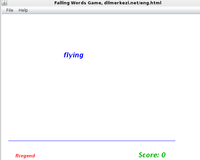 Desktop English German Falling Words Game discount code