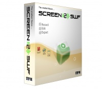 This screen recorder creates instant screen demos, tutorials and presentations with the highest compression ratio in the world.