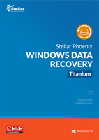 screenshot of Stellar Phoenix Windows Data Recovery Home Titanium
