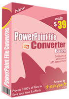 PowerPoint File Converter Batch discount coupon