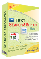 Text Search and Replace Tool discount coupon