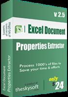 Excel Document Properties Extractor discount coupon