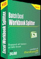 Batch Excel Workbook Splitter discount coupon