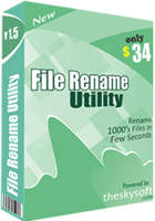 File Rename Utility discount coupon