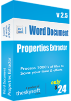 Word Document Properties Extractor discount coupon