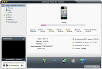 mediAvatar iPhone Mac Transfert Screen shot
