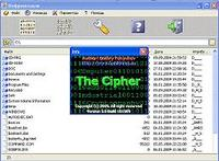 The Cipher Screen shot