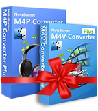 Bundle: NoteBurner M4V Converter Plus for Mac + NoteBurner M4P Converter for Mac discount coupon