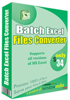 Batch Excel Files Converter discount coupon