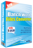 Batch Word Files Converter discount coupon