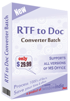 RTF TO DOC Converter Batch discount coupon