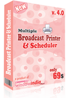 Multiple Broadcast Printer N Scheduler discount coupon