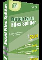 Batch Excel Files Splitter discount coupon