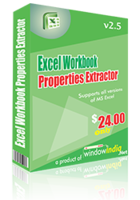 Excel Workbook Properties Extractor discount coupon