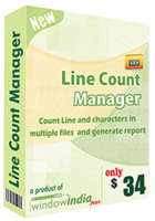 cheap Line Count Manager